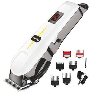 professional barber hair clipper cordless hair trimmer beard trimer for men electric hair cutting machine rechargeable cut