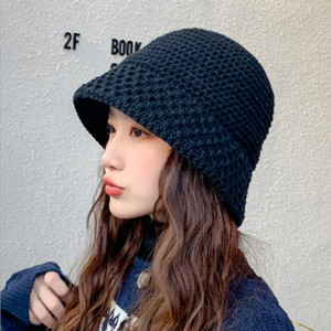 Winter Luxuxentwerfer Hip Hop Lässige Wollhut Mode Stingy Krempe Hüte Herbst atmungsaktiv Outdoor-Warm Beanies Damen Cap