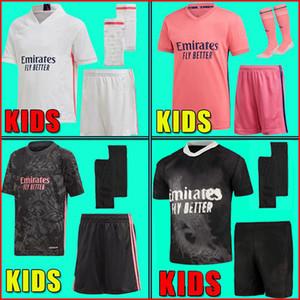 SERGIO RAMOS PELIGRO BENZEMA Real Madrid 20 21 camiseta de fútbol 2020 2021 ASENSIO MODRIC MARCELO camiseta de fútbol hombres niños kits conjuntos niño calcetines