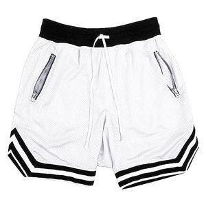 GYM ПОБЕДИТЕЛЬ сжатия летом сплошной цвет сетки быстросохнущие шорты мужские спортивные штаны спортивные залы Фитнес Мужские шорты Slim Fit одежды