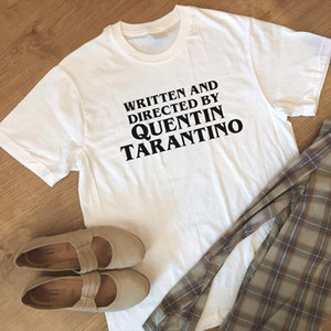 Quentin Tarantino Women T Shirt High Quality Fashion Cotton Short Sleeve Casual Hipster Letter Print T Shirt Crewneck TShirts