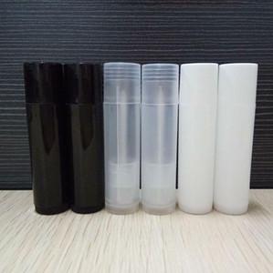 1000PCS شحن مجاني 5G إفراغ مسح بلسم الشفاه أنابيب حاويات أحمر الشفاه الشفاف أزياء كول زجاجات الشفاه أنابيب إعادة الملء