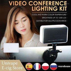 Kit d'éclairage de conférence vidéo YLZ-4 Lumière pour la conférence vidéo Conférence portable Conférence d'ordinateur portable Zoom Call Lighting Remote Working1