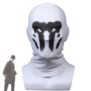 Роршах маски Halloween Inkblot Маски Watchmen Костюм Косплей Masques Аниме Mascarillas Superhero Face Тушь партия реквизит