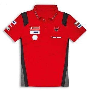 Racing costume Polo Chemise respirante Downhill Courts T-shirt Homme T-shirt Moto Jersey Polyester T-shirt court à séchage rapide pour le séchage rapide peut être personnalisée