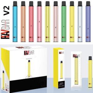 Autentico YOCAN FLAVBAR V2 Monouso VAPE PEN POD Dispositivo 5ml 1000 PUFFS SISTEMA VAPOR 10 Colori VAPorizer Kit