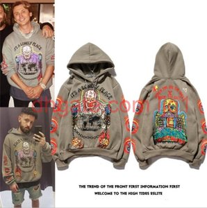 \ rlouis \ rvitton \ rlv \ rskull palace hoodie graffiti hoodie hombres y mujeres hip hop chaqueta