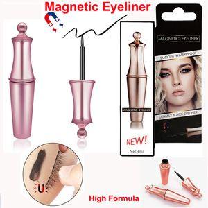 Магнитный подводка для глаз для магнитных ресниц подводка для глаз Высокая формула без клея необходима водонепроницаемая длительная натуральная магнитная жидкая подводка