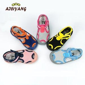 Ailvyang marque enfants sandales d'été chaussures bébé garçons filles lycra élastique chaussures chaussures enfants casual bonbons couleur chaussures A08 lj200908