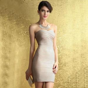 Moda Kim Kardashian Strapless Bandage Dress Mulheres Bodycon Vermelho Bege Sexy Celebridade Festa Vestidos Verão Mini Vestidos1