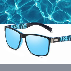 New style polarized square sunglasses for men and women 88511