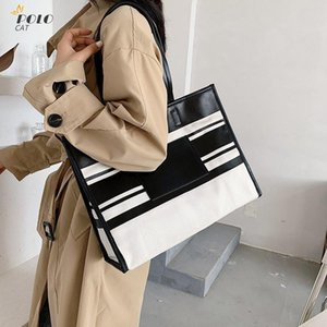 2020 New Casual Plaid Shoulder Bag Fashion Large Capacity Wild Messenger Brand Female Totes Crossbody Bags Women Leather Handbag