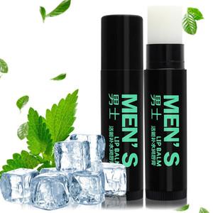 Balsamo per labbra idratante per gli uomini nutriente idratante capanna naturale uomo trasparente menta limone arancione tè verde tè aromatizzato labbra cura m