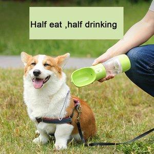 Tragbare Haustier Hund Wasser Flasche Multifunktions Hund Lebensmittel Wasserzufuhr Trinkschale Welpen Katze Wasserspender Outdoor Travel Pet Pro 168 K2