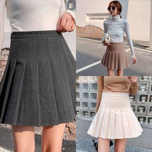 SWLU NUEVO traje de verano Falda larga Spring Business Sexy Falda Mini Faldas Moda para mujer Ropa coreana Remache recto brillante