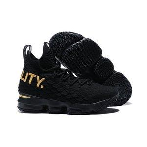Las cenizas de alto rendimiento Calidad 15 Lebron Santo Kith baloncesto para hombre 15s llegada de los zapatos James presenta diseñador zapatillas Lbj Tamaño
