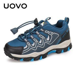 UOVO 2020 New Boys Sports Shoes Autumn Kids Outdoor Shoes Breathable Children Hiking Shoes Spring And Autumn Sneakers Eur #27-39 1006