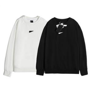 HIP HOP Sweatshirts Manteau Casual Vêtements Haute Qualité Pull Hommes Casual Automne Hiver Hiver Long-Manches Crochet Broderie Sweatshirts Sweats à capuche