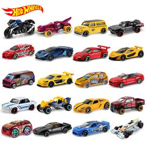 ORIGINAL HOT Wheels Car 5pcs a 72pcs Autos Juguetes Hotwheels Ciclink Box Diecast Model Carro Toys Hot Toys para niños Regalo de cumpleaños LJ200930