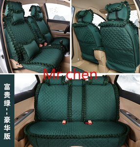 Advanced Edition Four Seasons General Fashion Lace Cloth Automobile Seat Cushion Car Seat Cover Accessories