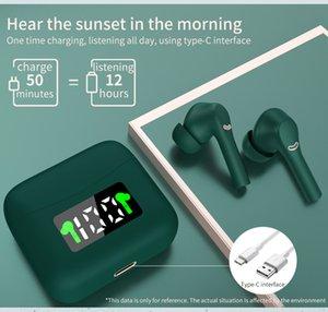 Amazon Hot Selling Wireless Earphone Headset Earbuds With LED Power Display In-ear Headphone True Wireless Earphones