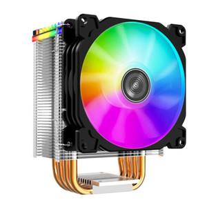 Jonsbo Cpu Cooler 92X92mm Argb Mini Fan 4 Heat Pipes Heatsink for Lga775 1150 1151 1155 Am2+ Am3+ Am4 Fm2+ Fm2