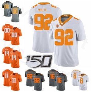 Männer Frauen Kinder NCAA Tennessee Volunteers Football 92 Reggie White Jersey 16 Peyton Manning 6 Alvin Kamara 14 Eric Berry Joshua Dobbs