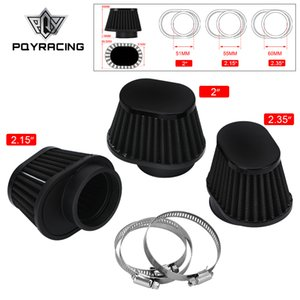 Pod Air Filter Intake Cleaner 50mm 51mm 54mm 55mm 60mm Oval Round Tapered Cone Clamp-On For Car Motorcycle PQY-AIT320 322 324