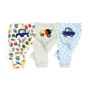 3PCS LOT 2020 Baby Pants Spring Autumn Cotton Infant Pants Cartoon Monkey Baby Gril Pants 0-24 Newborn Baby girl boy clothes LJ201023