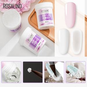 ROSALIND 90g Acrylic Nail Powder Soak Off 3 Colors Acrylic System Nail Powder For Nail Art Extension