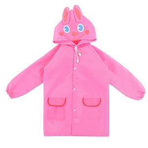 Kids Rain Coat Animal Style Children Waterproof Raincoat Rainwear Unisex Cartoon Kids Raincoats XR-Hot
