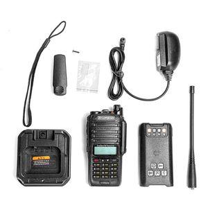 Baofeng UV-9R Além disso Acústico Headset IP67 Waterproof Dual Band radioamador Baofeng 8W Walkie Talkie 15W 10 KM UV 9R Além disso,