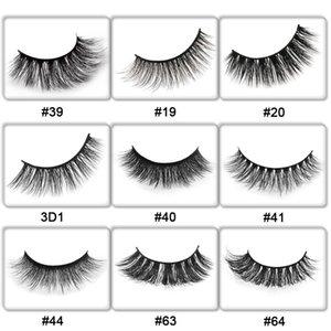 30 Pairs 3d Mink Lashes Customize Packing False Eyelashes Eyelash Private Label Mink Eyelashes Extension Makeups Fake Eyelashes sqcEOj