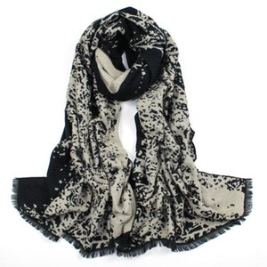 2020 fashion Wool women scarf Warm shawls and wraps lady Printed female hijab stoles long cashmere foulard head scarves