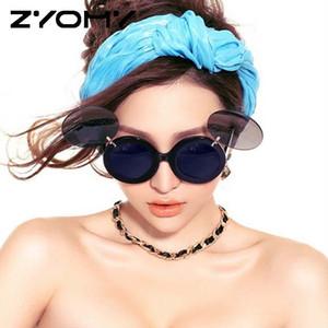 Q الأزياء الاستقطاب القيادة النظارات الشمسية للجنسين نظارات حملق متعدد الألوان تصميم العلامة التجارية نظارات ريترو جولة GAFA UV400 عينية وجهية دي سول