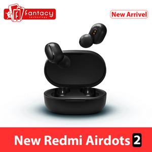 Global Version Xiaomi Redmi AirDots 2 Bluetooth 5.0 Earphone TWS Mi True Wireless Earbuds Basic 2 Headset Auto Link Game Mode