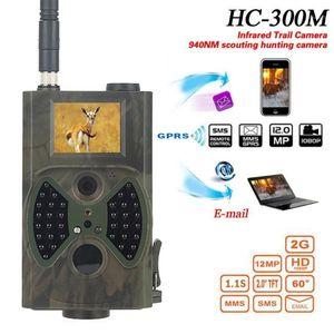 HC300A HC300M 사냥 카메라 GSM 12MP 1080P 사진 트랩 나이트 비전 야생 동물 적외선 사냥 트레일 카메라 헌트 샤스 스카우트 1