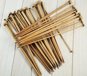 36 шт. / Установка бамбуковых вязальных игл 18 размеров Одноописанные гладкие вязание крючком наборы 2 .0 -10 .0мм
