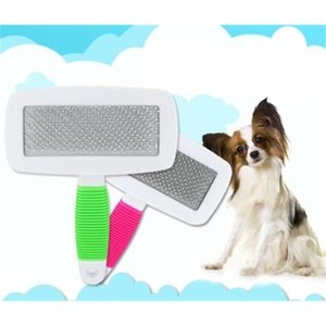 Handle Shedding Dog Cat Hair Brush Fur Grooming Trimmer Comb Slicker Cheap Pet Products Accessories ZZA282