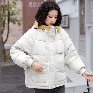 Winter Jacket Women High Quality Hooded Warm Thicken Padded Female Outwear Coat Short Parka Mujer Invierno 201020