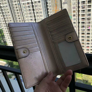 designer Long wallet cards holders key and coins Clutch wallets PU leather purse card holder coin purse women wallet wristlets