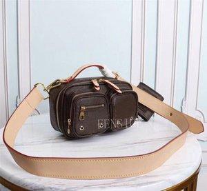 2021SSS Diseñadores de moda Paquete de pecho Carta de letra 2 Set Bolsas de cintura Bolsos Bolsos de cinturón Crossbody Sobre Cámara Bolsos M45672