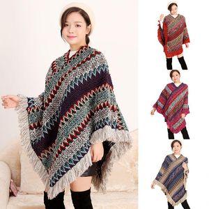 Women Winter shawl Retro Designer Scarf Wraps Women Solid Metal Button Soft Wrap Casual Warm Scarves Shawls nation Scarves large