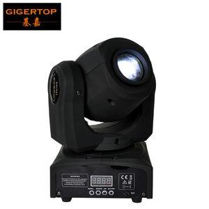TIPTOP Stage Light Mini Size Beam USA Cree 10W White Color Stage Light Mini DJ LED Spot Gobos Moving Head Light CE certification