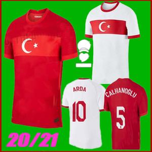 Größe S-XXL 2020 Türkei Euro Fußball Jersey 20 21 Yazici Caglar Söyüncü Demiral Ozan Kabak Calhanoglu Celik Homa Away football Hemden