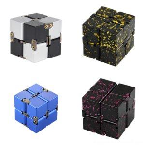 ICWMT Cube Braccialetto Cubo Rubik Placcato Novità Gear Box Infinito Cube Catena Catena Quadrato Braccialetto fatto a mano Ragazze Pentagramma Rubik's