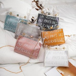 Hot Style Transparent Small Shoulder Bag New Jelly Crossbody Bags for Women Bucket Bag Casual Mobile Phone Packet