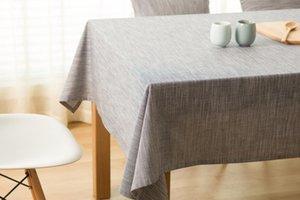 Winlife semplice giapponese tovaglia di lino multifunzionale decorativo Table Cover rettangolare Piazza personalizzato Winlife semplice uscita Onlin wmtqnK