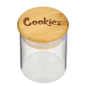 Cookies Sealed Storage Tank Vakuum Feuchtigkeitsbeständig Holz Moisturizing Behälter Glas Transparent Feuchtigkeitsbeständig Feuchtigkeitsbeständig Behälter