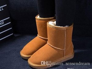 Hot sales Womens Short Boot classic boots wgg Boots Women's boot Snow boot Brand Designer boots Leather